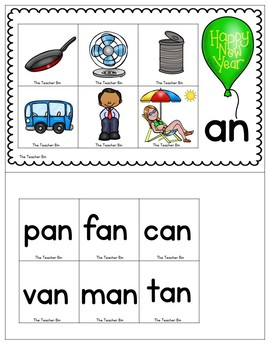 Kindergarten - Special Education - New Year Math and Literacy Minimal Prep Work