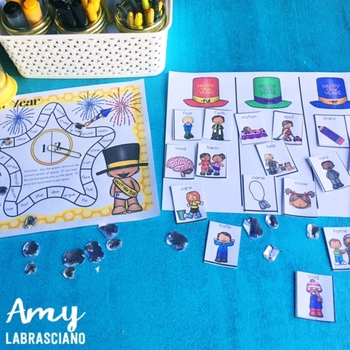 New Years Mini Guided Reading Unit
