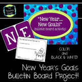 New Years, New Goals!  Bulletin Board Project