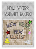 New Years/ New Years Bulletin Board/ Bulletin Board Letters/ New Year Goals