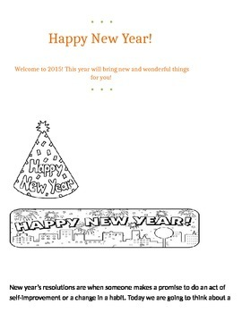 New Year's Packet!!!!