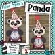 New Years Panda Bear Craft & Valentine Panda Bear Craft: 2 in One Craft