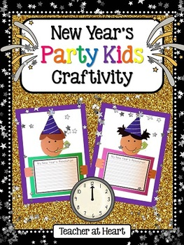 New Year's Party Kids Craftivity