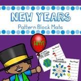 New Years Pattern Blocks Mats