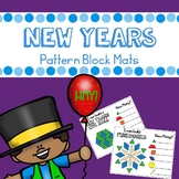New Years Pattern Blocks Mats
