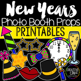 New Years Photo Booth Props {Made by Creative Clips Clipart}
