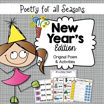 New Year's Poem & Activities