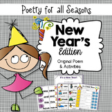 New Year's Poem & Activities