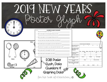 New Years Poster Glyph