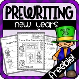 New Years Prewriting Worksheets