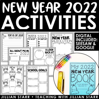 The New Year Worksheets Resources & Lesson Plans | Teachers Pay Teachers