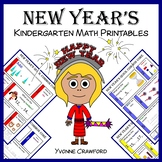 New Year's No Prep Common Core Math (kindergarten)