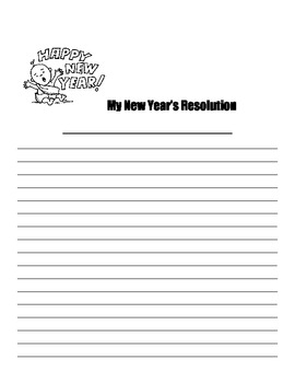 New Year's Readers' Theater and Creative Writing Teaching Packet