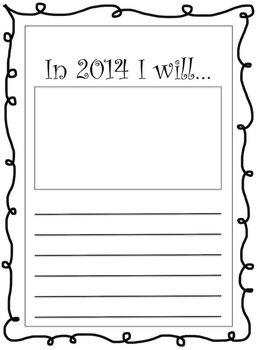 New Year's Resolution 2014
