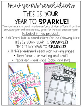 New Years Resolution 2019 This is Your Year to Sparkle