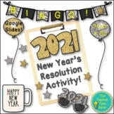 New Years Resolution Activities 2019