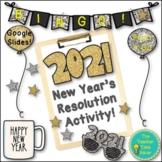 New Years Resolution Activities 2019