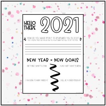New Year-New Goal FREEBIE