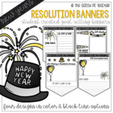 New Years Resolution Banners