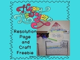New Year's Resolution Craft