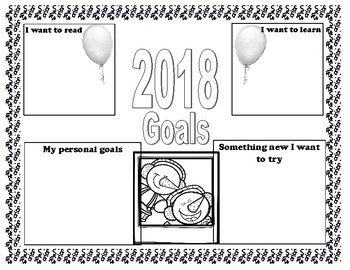 New Years Resolution Craft