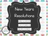 New Years Resolution Flip Chart