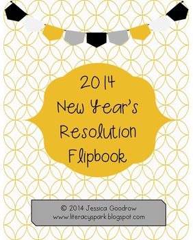 New Year's Resolution Flipbook