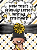 New Year's Resolution Friendly Letter Writing Craftivity