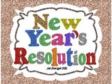 New Year's Resolution Graphic Organizer