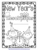 New Year's Resolution Guided Explanatory Essay for January