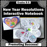 New Years Resolutions 2019, New Year Goals Craft Activity