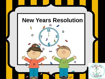 New Years Resolution Paper Noisemaker