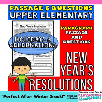 New Year's Resolutions: Reading Passage with Questions