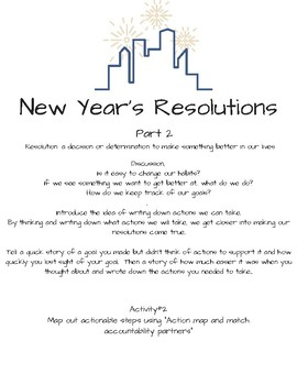 New Years Resolution Part 2 (Part 1 is FREE)