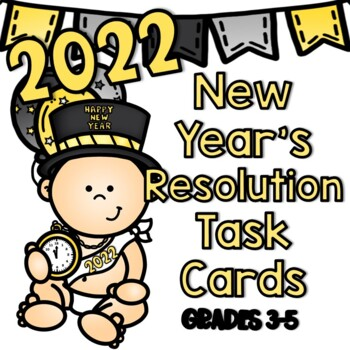 New Year's Resolution SCOOT (Printables)