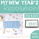 New Year's Resolution 2018 Tab Book