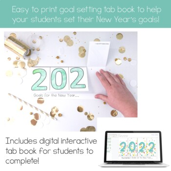 New Year's Resolution 2020 &2021 Tab Book