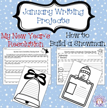January Writing Projects