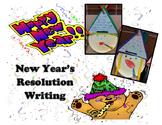 New Year's Resolution Writing Craftivity