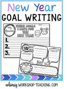 new years resolution writing templates whimsy workshop teaching