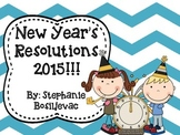 New Year's Resolutions (2015 Paragraph Writing)