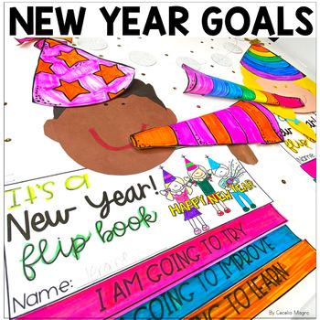 New Years Resolutions 2018 Flip Book Craft