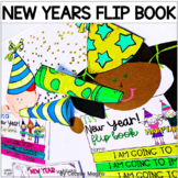 New Years Activities 2019 Resolutions Flip Book Craft