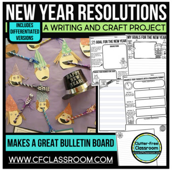 New Year's Resolutions: A (K-5) Writing Project Resource Kit