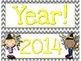 New Year's Resolutions ActivInspire Flipchart Hall Display