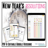 New Year's Resolution / Goal Setting {Google Digital Resource}