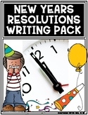 New Years Resolutions Goal Setting Writing Pack