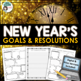 New Year's 2017 Writing, Resolutions and Goals