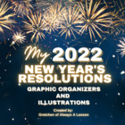 New Year's Resolutions Graphic Organizer