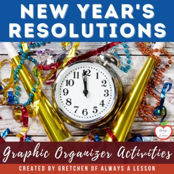 New Year's Resolutions Graphic Organizer
